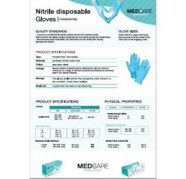 MEDCARE™ Nitrile Medical Gloves